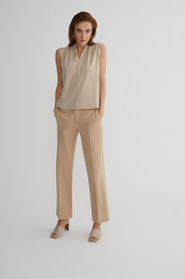 The trend colour of the moment: Beige!